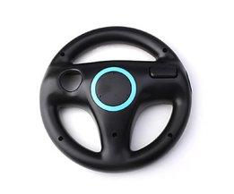 Koop Zwart Stuurwiel Voor Nintendo Wii Mario Kart Racing Top Kwaliteit Games Afstandsbediening <br />  JESBERY