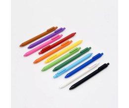 Xiaomi Mijia KACO Kleurrijke Teken Pen 12 Kleuren 0.5mm Refill ABS Plastic Schrijven Lengte 400 m van Xiaomi Mijia ecologische Keten <br />  MLLSE