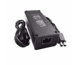 AC 100-240 V Adapter Voeding Lader EU Plug Kabel voor XBOX 360 Slim Ideaal Vervanging Charger Met LED Indicator licht <br />  Dpower