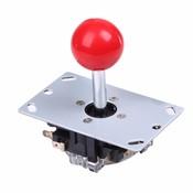 Rode 8 Manier Arcade Game Joystick Bal Vreugde Stok rode Bal Vervanging Toepassingen Voor 4 microschakelaars detecteren op/off positie <br />  VODOOL