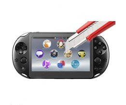 Gehard Glas Voor + Back Clear Screen Protector Cover Beschermfolie Guard sony PlayStation Psvita PS Vita PSV 2000 slanke <br />  KomoKe