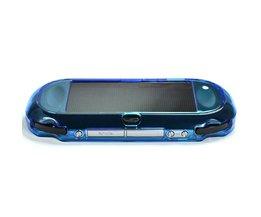 Lichtblauw bescherming hard case cover voor playstation ps vita 1000, past voor Ovale Start & Selecteren knop alleen <br />  XRHYY