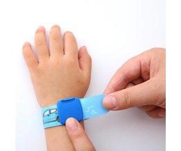 Kinderen Reuseable Identiteit Polsband Kids SOS ID Wrist Band Kind Strand Trips Armband Excursies Baby Siliconen Polsbandjes <br />  Qi Qi Wu