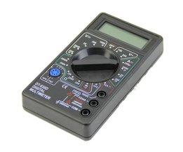 1 st Mini 9 v Digitale Multimeter Voltmeter Amperemeter AVO Meter DT830D Lcd-scherm 2016<br />  MyXL