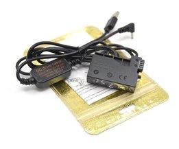 ACK-E8 mobiele power bank USB kabel + DR-E8 DC Coupler LP-E8 grip dummy acculader voor Canon EOS 550D 600D 650D 700D T4i X6i <br />  VITESUN