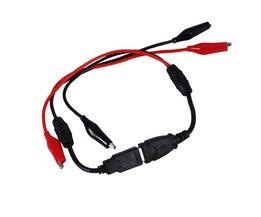 USB Dual Mannelijke Alligator Clip Draad Mannelijke vrouwelijke om USB Lijn Detector Spanning Capaciteit Tester <br />  VBESTLIFE
