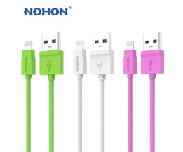 Originele  8pin Usb-kabel Voor Apple iPhone 6 Plus 5 5 S 5C iPad 4 Mini Air iPod Nano7 Touch 1.5 M Fast Charger Data Sync Kabel <br />  Nohon