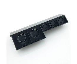 Voor PS4 Koelventilator Externe Koeler Ventilator voor Sony Playstation 4 PS4 Turbo Temperatuurregeling Vijf Fans Usb-kabel Gratis <br />  DATA FROG