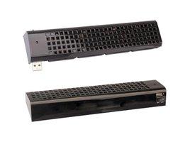 USB 4 Quad 40mm Fan Cooling Fans Koeler Voor Sony Playstation 3 PS3 Zwart<br />  VODOOL