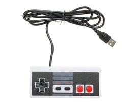 Wired Controller Voor NES Klassieke Editie USB Gamepad JoyStick voor NES Mini Windows PC Video Game Retro Controller <br />  ShirLin