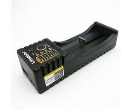 Liitokala Lii-100 18650 Batterij Oplader Voor 18650/26650/16340 RCR123/14500/LiFePO4/1.2 V Mh Ni-Cd Rechareable Batterij lii-100 <br />  liitokala