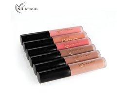 12 Stks/set Matte Langdurige Lipstick 26 Kleuren Lipgloss Waterdicht Lip stick 5gx12 Schoonheid Lippen Make # L17013 <br />  nice face