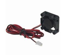 2 stks Gdstime 30mm x 30mm x 10mm 1 Inch 12 V Dual Kogellager Kleine DC 3D Printer Koelventilator <br />  gdstime