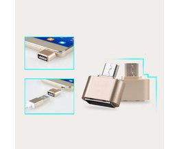 Mini Micro USB Naar USB OTG Adapter 2.0 Converter Voor Android Samsung Galaxy S3 S4 S5 Tablet Pc om Flash Muis Toetsenbord <br />  ANBES