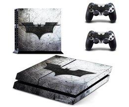 Ps4 batman sticker vinyl decal beschermende huid cover voor sony ps4 console en 2 dualshock controllers <br />  MyXL