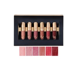 BEAUTY GEGLAZUURDLip Make Lippenstift Lipgloss Matte Gemakkelijk te langdurige Waterdicht Lipgloss 6 Kleuren In Set <br />  beauty glazed