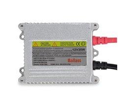 1x Sliver kleur xenon hid ballast een jaar garantie DC12V xenon blok suitbale voor alle auto koplampen xenon ballast 35 w <br />  Safego
