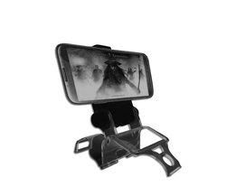 Smart Telefoon Clip Klem Houder Stand Beugel voor PS4 Slim Controller Verstelbare Mount Clip Houder + OTG Kabel <br />  ANENG