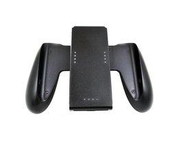 Zwart Controller Grip Handvat Lading Voor Nintendo Schakelaar Vreugde-Con Console Houder Hoge Stofdicht Vreugde-Controller Handvat <br />  HOMEREALLY