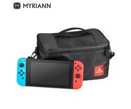 Reizen console tas Beschermhoes Bag Voor Nintend Schakelaar Tas Schouder Draagtas voor Nintendo Switch Console Storage Pack  <br />  <br />  MYRIANN