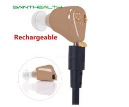 Oplaadbare mini hoortoestellen versterker K88 oor geluidsversterkers gehoorapparaten oplaadbare gehoorapparaat <br />  Saint Health
