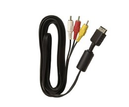 Speciale Aanbieding 1.5 m HD AV Video Adpater en Audiokabel montage kabel cord voor sony voor playstation ps2 voor ps3 HDTV <br />  ShirLin