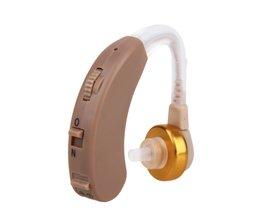 Aparelho Auditivo Verstelbare Gehoorapparaat Onzichtbare Sound Voice Versterker Volume Tone Oor Luisteren Assistance Met Batterij <br />  Kemei