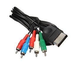 High Definition HD Component AV AV-KABEL Cord Hookup Verbinding Voor Microsoft Voor XBox Generatie 1 Console <br />  ShirLin