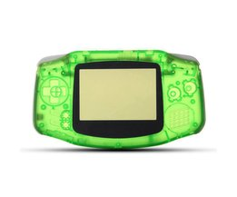 Vervanging Helder Groen Compleet Behuizing Shell Case Voor GBA Shell Cover Voor Nintendo Game Boy Advance <br />  ShirLin
