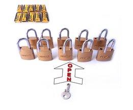 10 ST 25mm hangsloten open door dezelfde sleutel <br />  MyXL