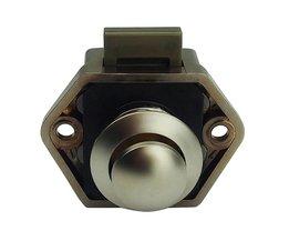 Push Lock Knop 20mm Kast Deurknop RV Camper Auto Motor Thuis Kast Kast Lade Push Klink Button Sloten <br />  MyXL