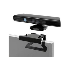 Koop TV Clip Klemflens Montage Stand Houder voor Microsoft Xbox 360 Kinect Sensor <br />  OXA