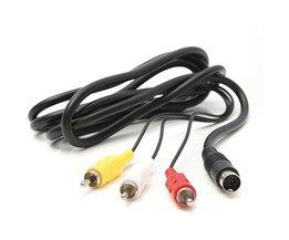 Hoge Qualtiy 1.8 M 6FT AV TV S-Video Super Av-kabel Koord Voor Nintendo Gamecube 64 Voor SNES NGC Voor N64 <br />  ShirLin