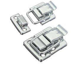 MTGATHER Rvs Chrome Toggle Klink Voor Borst Box Case Koffer Tool Sluiting 43mm H144 Laagste Prijs <br />  MyXL