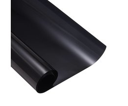 50 cm x 300 cm Dark Black Autoruit Tint Film Glas VLT 5% Roll 1 PLY Auto Auto Huis commerciële Solar Bescherming Zomer <br />  AUMOHALL