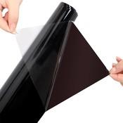 0.5*3 m Diepe Zwarte Auto Glasfolie Zonnescherm Gordijnen Voor Auto Side Window Auto Getinte Film Folies Zonwering Auto Stickers <br />  sikeo