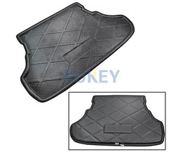 Kofferbak Cargo Liner Boot Mat Lade Vloer Tapijt Voor Mitsubishi Lancer Sedan 2008 2009 2010 2011 2012 20132015<br />  MISIMa