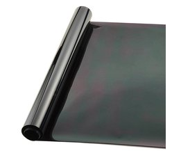 50*300 cm Black Window Tint Film Glas 9% Roll 2 PLY Huis Commerciële Tinting Bescherming UV + Isolatie auto Zijruit Tint Film <br />  AUMOHALL