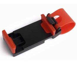 GPS Auto Stuurwiel Telefoon Houder Navigeren Bracket Stand Case Cover Voor iPhone 5 S 6 6 S Plus iphone 7 8 plus X Voor Samsung S7  <br />  <br />  GAGP