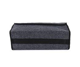 Autostoel Terug Achter Opbergtas Auto-Styling Kofferbak Organizer Houder Pocket Hanger Pouch Inklapbare Grijs <br />  VGEBY