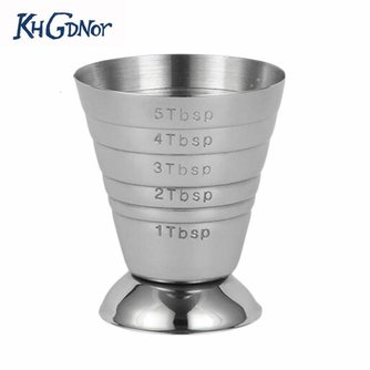 Rvs Meten Shot Cup Ounce Jigger Bar Cocktail Drink Mixer Liquor Maatbeker Measurer Mojito Meetinstrument