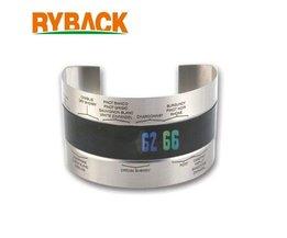 RYBACK Rvs LCD Elektrische Rode Wijn Fles Thermische Band Thermometer Manchet Stijl voor Keuken Bar <br />  MyXL