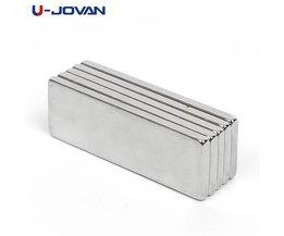 Koop 10 stks Super Sterke Cuboid Block Neodymium Magneet Zeldzame Aarde N35 30x10x2mm <br />  U-JOVAN