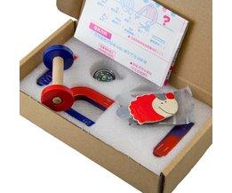 1 set Ferrietmagneet Kit Onderwijs Science Experiment BAR + HOEFIJZER + RING MAGNEET + comapass maat s <br />  MyXL