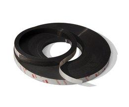 2 Meters zelfklevende Flexibele Magnetische Strip 3 M Rubber Magneet Tape width12.7mm dikte 1.5mm <br />  MyXL