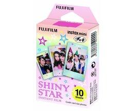 Fujifilm Instax mini Film Shiny Star 10 pak