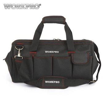 """18 """"Waterdichte Reistassen Mannen Crossbody Bag Tool Tassen Grote Capaciteit<br />  WORKPRO"""