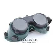 Lassen Veiligheidsbril Werk Veiligheidsbril Voor Flaming Snijden Solderen solderen Eye Protector Zachte PVC 2 Layer Lens <br />  ANSIR