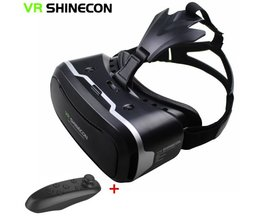 "Vr  ii 2.0 helm virtual reality bril mobiele telefoon 3d video movie voor 4.7-6.0 ""telefoon + afstandsbediening <br />  shinecon"