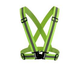 Reflecterende Veiligheid Vest Strips voor Bouwverkeer Magazijn Zichtbaarheid Security Jas Reflecterende Strips Werkkleding Uniformen <br />  CCGK